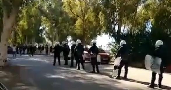 Πάτρα: Συγκέντρωση αντιεξουσιαστών στο Νότιο Πάρκο