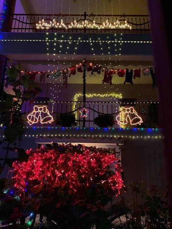 Πάτρα: Το σπίτι που σου ανεβάζει την ψυχολογία και σου θυμίζει ότι έρχονται γιορτές (φωτo)