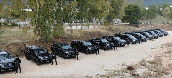 ΕΛ.ΑΣ.: Νέος εξοπλισμός με περιπολικά και αλεξίσφαιρα - 39 οχήματα στην Δυτική Ελλάδα