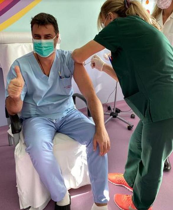 Ο Βασίλης Παλαιολόγος έκανε το εμβόλιο κατά του κορωνοϊού