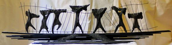 Πάτρα: Θλίψη για τον θάνατο του γλύπτη Διονύση Γερολυμάτου