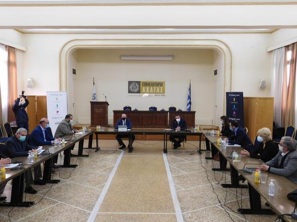Πάτρα: Ο Πλάτων Μαρλαφέκας πραγματοποίησε συνάντηση με τον Αλέξη Τσίπρα (φωτο)
