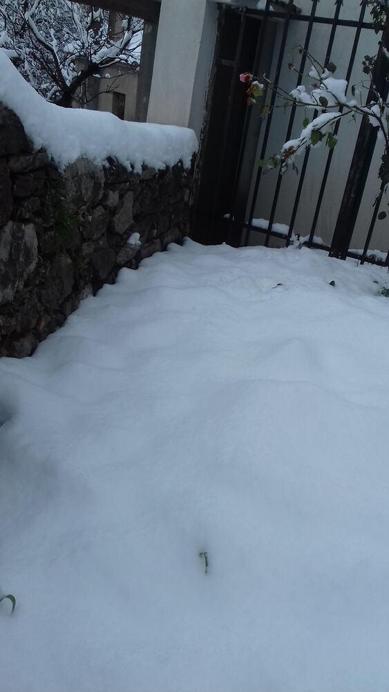 Άνω Βλασία Καλαβρύτων - Το χιόνι έκανε το χωριό να μοιάζει παραμυθένιο (φωτό)