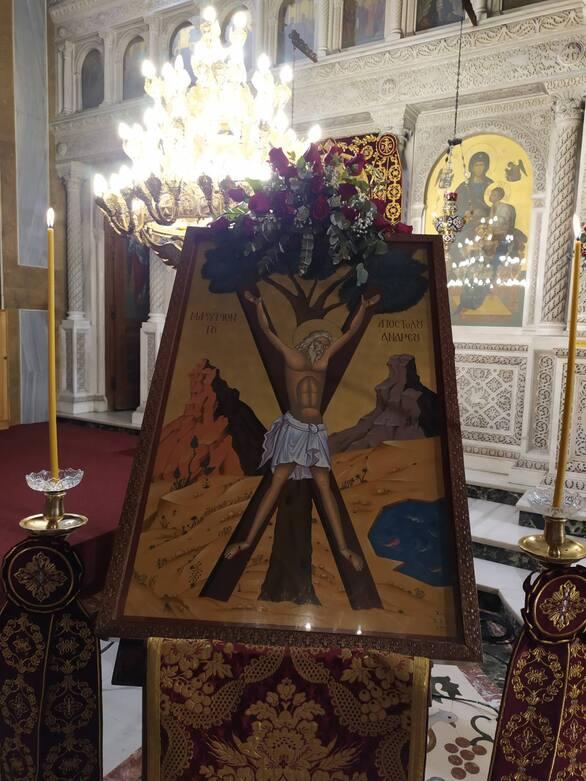 Χρυσόστομος: «Ο Σταυρός του Πρωτοκλήτου, θησαυρός των Πατρών»