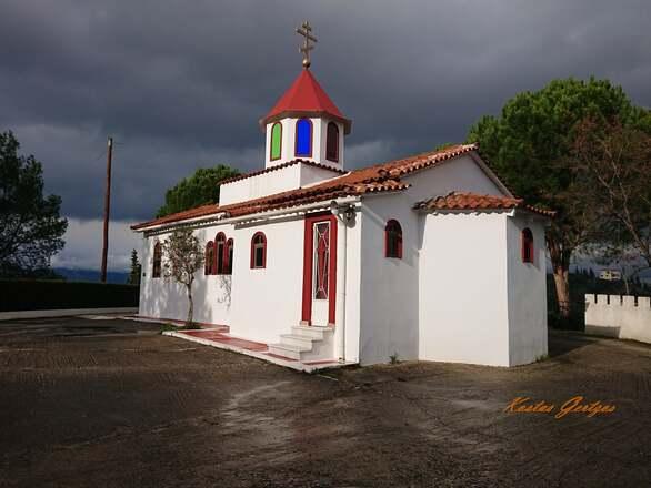 """Το """"περίεργο"""" εκκλησάκι της Αναλήψεως του Σωτήρος στην Ανθούπολη (φωτο)"""