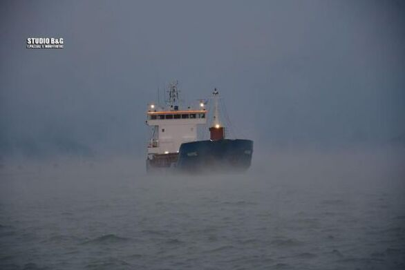 """Κακοκαιρία """"Λέανδρος"""": Τι είναι ο θαλάσσιος καπνός σε λίμνες"""