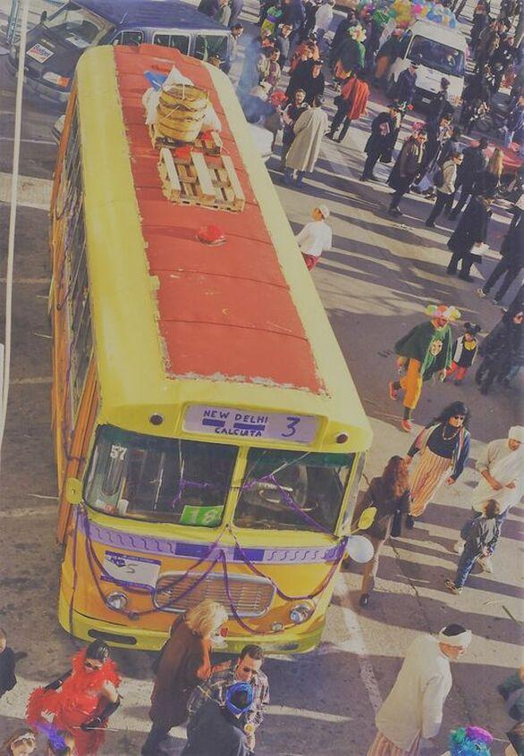 Πατρινό Καρναβάλι - Τα πούλμαν έχουν γράψει την δική τους ιστορία στις παρελάσεις