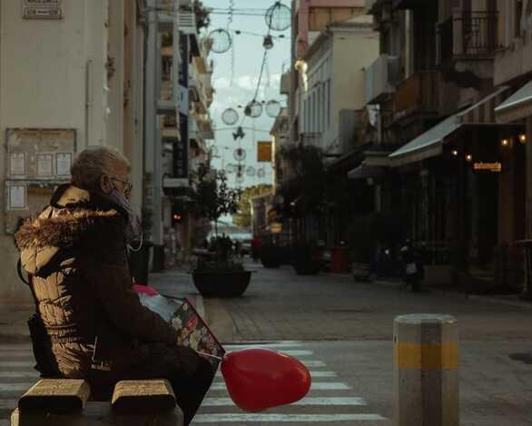 Του Αγίου Βαλεντίνου στην Πάτρα - Η αναγκαστική μοναχικότητα της πανδημίας