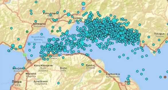 """Χουλιάρας: """"1.500 σεισμοί σε δύο μήνες στον δυτικό Κορινθιακό Κόλπο"""""""