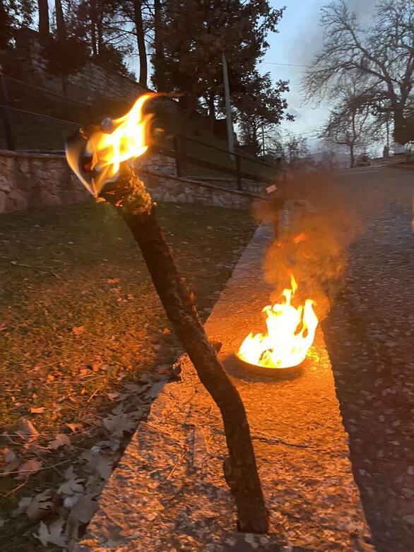 Δήμος Καλαβρύτων: Πιστή αναπαράσταση, της έναρξης της επανάστασης του 1821