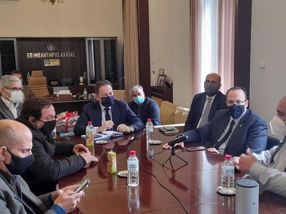 Επιμελητήριο Αχαΐας: Το κλίμα στη σύσκεψη φορέων - Πέτσα για το λιανεμπόριο (φωτο)