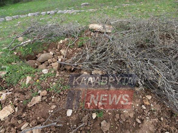 Αχαΐα: Αρχαιοκάπηλοι «χτύπησαν» τον Αρχαίο Κλείτορα (φωτο)