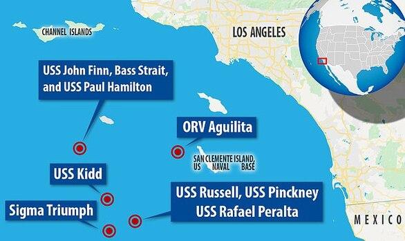 UFO έκαναν «ντου» σε πλοία των ΗΠΑ