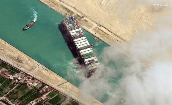 H ρύπανση από το «μποτιλιάρισμα στο Σουέζ» προερχόταν τελικά από την Αίτνα