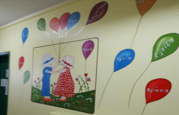 """Πάτρα: Ο """"παππούς"""" των μαθητών, Γιώργος Κατσίποδος συνεχίζει να ομορφαίνει τα σχολεία (φωτο)"""