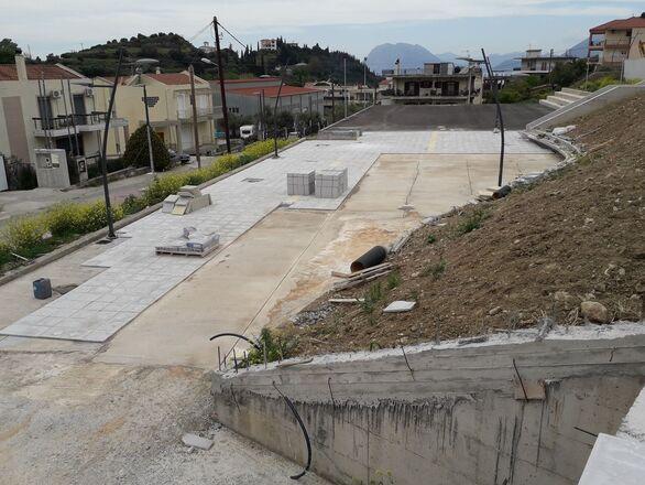 Πάτρα: Επιτέλους παίρνει μορφή η πλατεία στα Άνω Συχαινά (φωτο)
