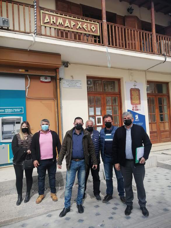 Αχαΐα: Επίσκεψη Αντιπεριφερειάρχη Αγροτικής Ανάπτυξης Θεόδωρου Βασιλόπουλου σε Κέρτεζη και Κλειτορία