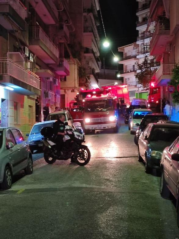 Νέα φωτιά σε διαμέρισμα στην Πάτρα (φωτό)