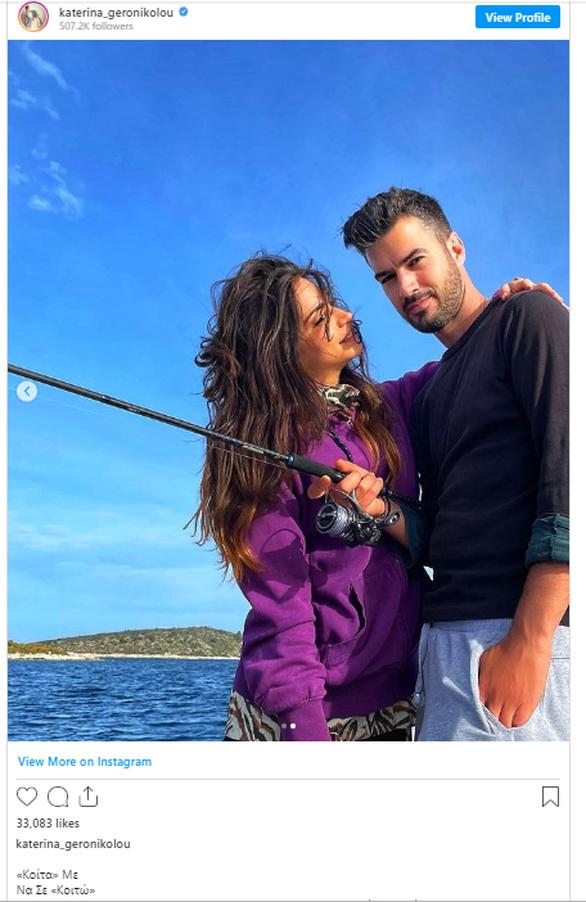 Κατερίνα Γερονικολού - Γιάννης Τσιμιτσέλης: Πήγαν για ψάρεμα