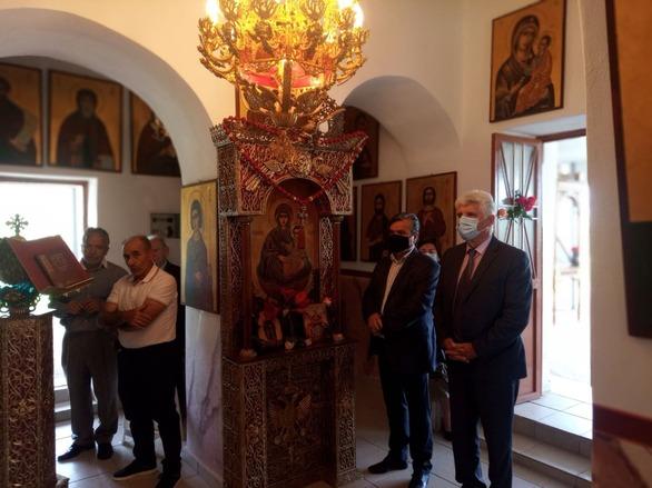 Δυτική Αχαΐα: Εορτή της Ζωοδόχου Πηγής σε Σαγέϊκα και Απιδεώνα