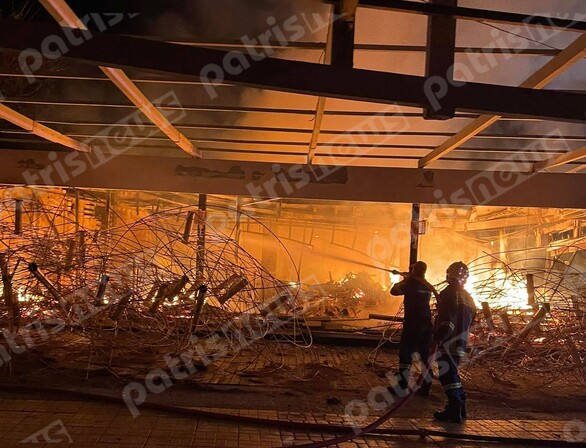 Δυτική Ελλάδα: «Παρανάλωμα του πυρός» έγινε γνωστό καφέ-μπαρ