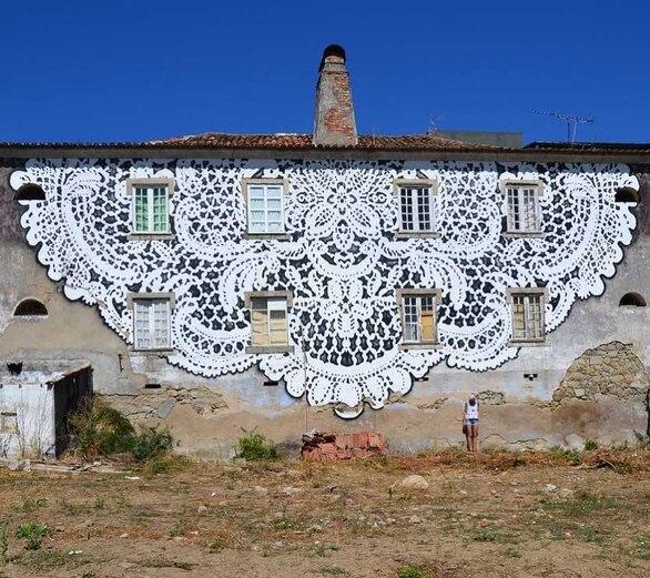 Η NeSpoon στην Πάτρα για την 3η τοιχογραφία του ArtWalk 6!