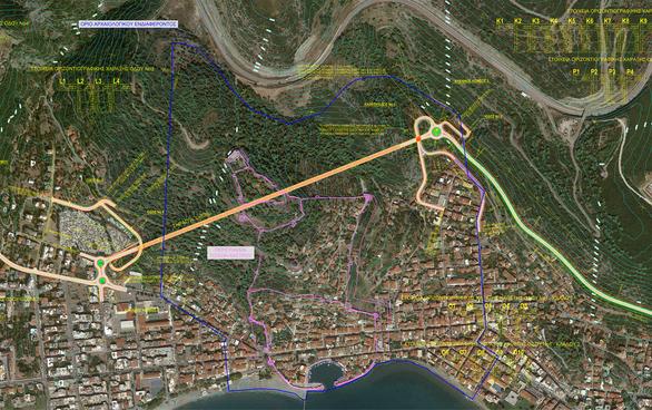 Ο Δήμος Ναυπακτίας παρέλαβε την προμελέτη για το Τούνελ του Κάστρου της πόλης