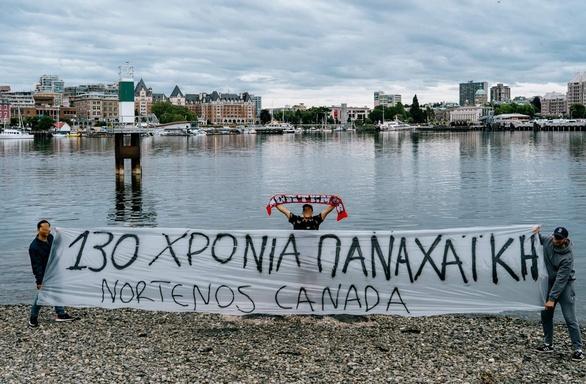 Η Παναχαϊκή γιορτάζει - Από την Πάτρα στη Γλασκώβη και από εκεί στον Καναδά (φωτό)