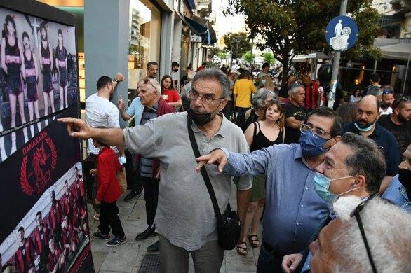 Πάτρα: Ο Δήμαρχος παρευρέθηκε στις εκδηλώσεις για τα 130 χρόνια από την ίδρυση της Παναχαϊκής (φωτο)