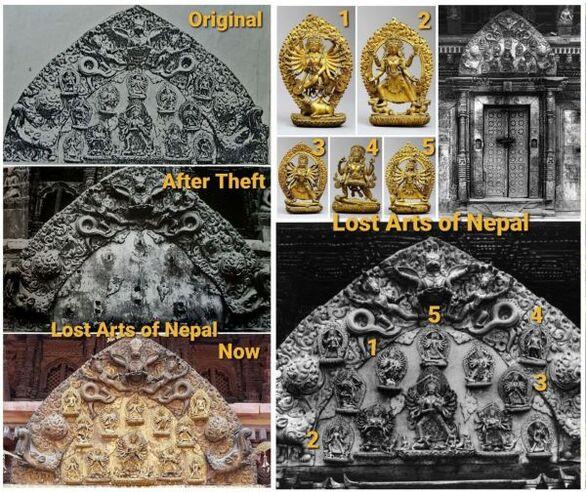 Κλοπιμαία γλυπτά βουδιστικής τέχνης σε δημοπρασία