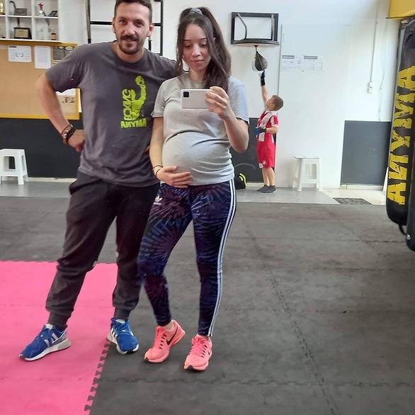 Στον 6ο μήνα της εγκυμοσύνης της η Χριστίνα Ζαχαροπούλου της Άμυνας Πατρών