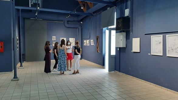 """""""Για Ένα Σχολείο με Σχέδιο"""" - Άνοιξε η έκθεση έργων εικαστικών εκπαιδευτικών στην Πάτρα (φωτο)"""