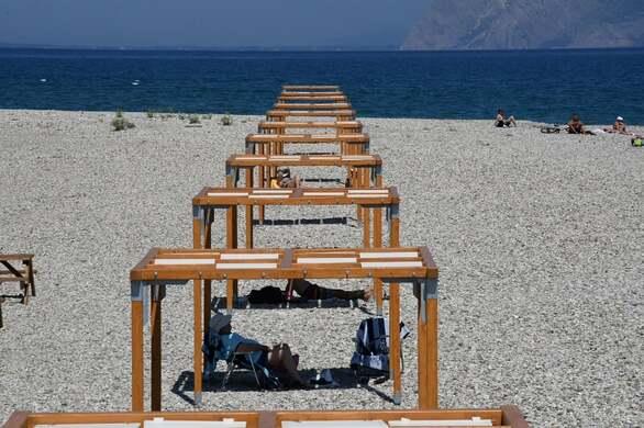 Κώστας Πελετίδης: Συνεχίζουμε τα έργα που δίνουν ανάσα στον πατραϊκό λαό - Επίσκεψη στην πλαζ της Αγυιάς (φωτο)