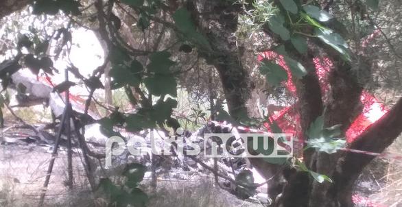 Πύργος: Κλιμάκιο της Πολιτικής Αεροπορίας στην Χαριά (pics+video)