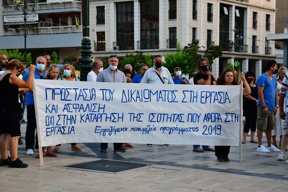 Πάτρα: Κόσμος στη συγκέντρωση της δημοτικής αρχής κατά της ανεργίας
