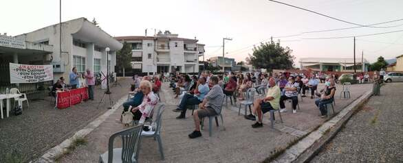 Πάτρα: Με επιτυχία πραγματοποιήθηκε η ανοιχτή εκδήλωση - συζήτηση των Οργανώσεων Μελών Παραλίας και Βραχναιίκων του ΣΥΡΙΖΑ Αχαΐας