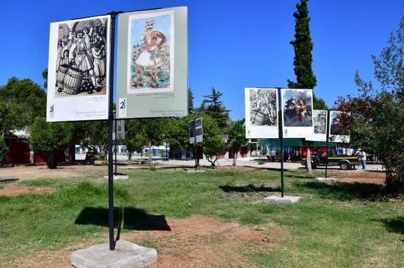 Πάτρα: Υπαίθρια έκθεση στην Πλαζ με έργα Ελλήνων και Φιλελλήνων Ζωγράφων (pics)