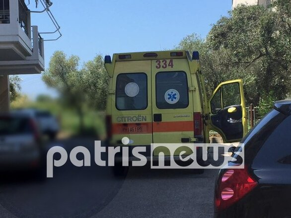 Ηλεία: Νεκρός άνδρας που έπεσε από τον 4ο όροφο