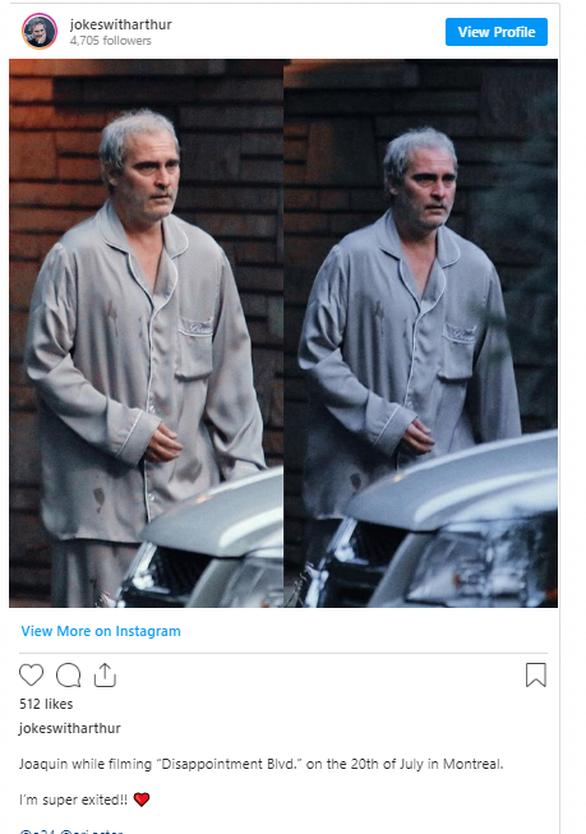 Η αλλαγή του Joaquin Phoenix για την νέα του ταινία