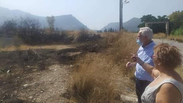 Ώρα Πατρών-Γιώργος Ρώρος:Περιοδεία στις πληγείσες περιοχές