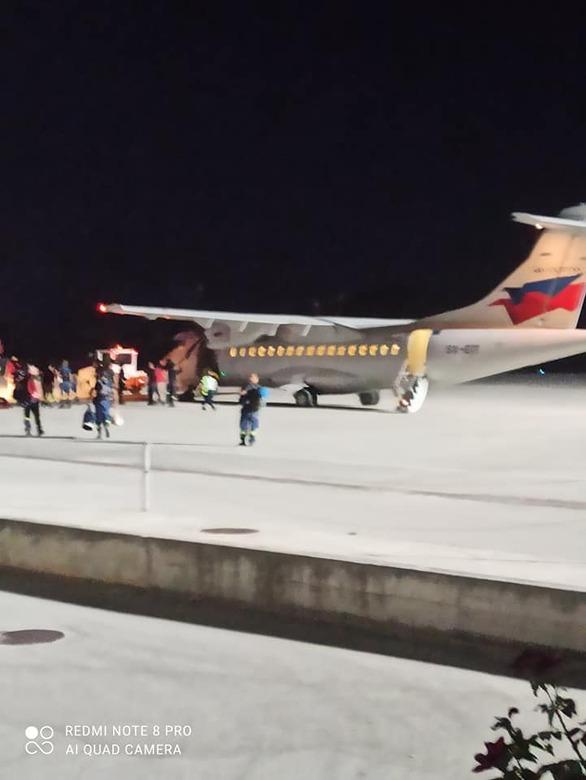 Φωτιά στη Ζήρια: Τουλάχιστον 20 πυροσβέστες από τη Θεσσαλονίκη στο αεροδρόμιο του Αράξου (φωτό)