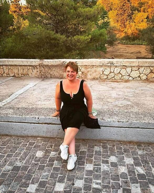 Αγνώριστη η Ελεάννα Τρυφίδου - Φωτογραφες με μαγιό μετά την απώλεια των 40 κιλών