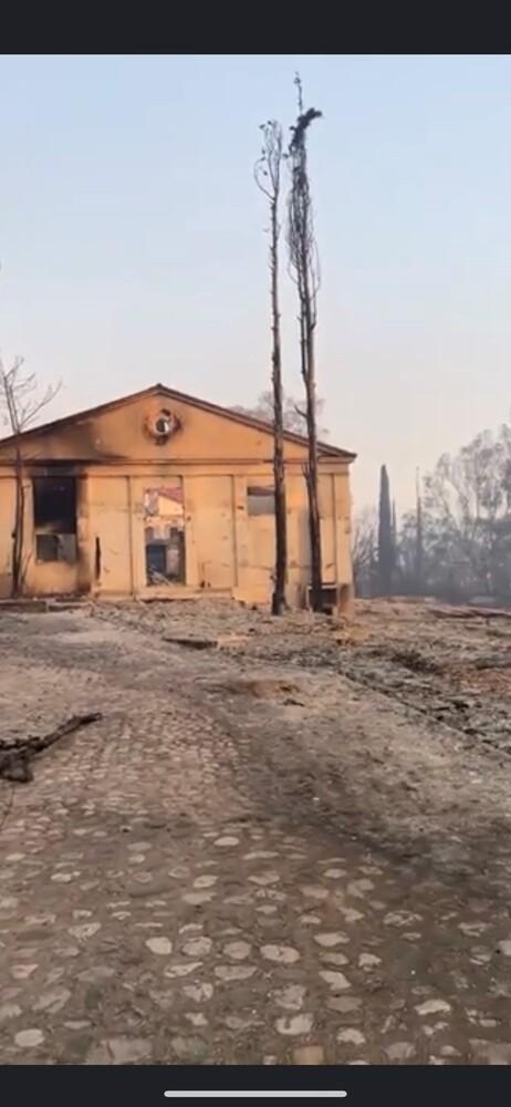 Ο Δήμαρχος Αιγιάλειας για τη φωτιά σε Ζήρια - Λαμπίρι - Μπούκα - Καμάρες - Λόγγο