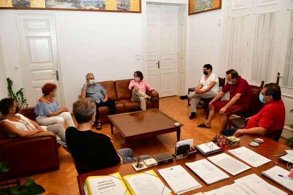 Πάτρα: Συνάντηση Δημάρχου με Καζαντζή, Λέκκα και Καλημέρη