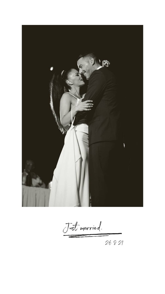 Νότης και Ηρώ - Ένα ερωτευμένο ζευγάρι που έζησε την πιο ευτυχισμένη στιγμή της ζωής του! (pics)