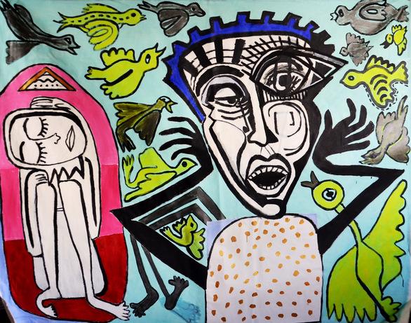 """Έκθεση """"The Roses Are Yellow"""" στην Art Appel Gallery"""