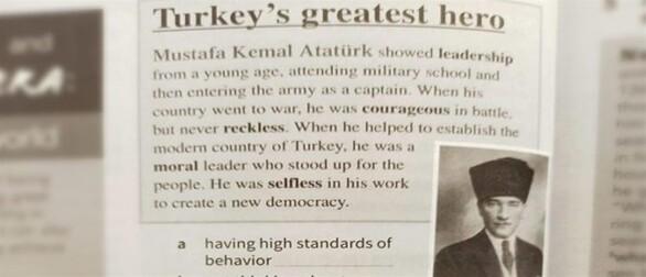 Κύπρος: Αποσύρεται σχολικό βιβλίο αγγλικών με αναφορά στον Κεμάλ Ατατούρκ ως τον μεγαλύτερο ήρωα της Τουρκίας