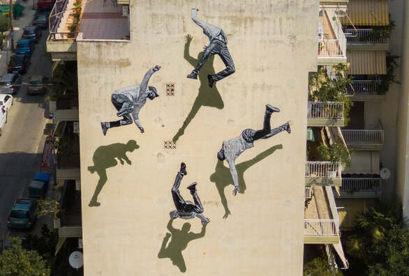 Η 46η τοιχογραφία του Artwalk Πάτρας ολοκληρώθηκε - Αφιερωμένη στον Μίκη Θεοδωράκη (φωτό)