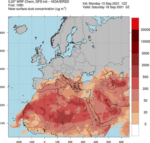 Δυτική Ελλάδα: Μίνι καλοκαίρι μέσα στο φθινόπωρο, περιμένοντας μια βροχή (διαγράμματα)