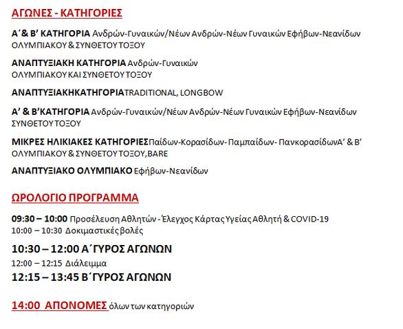 Οι Πανελλήνιοι Αγώνες Τοξοβολίας έρχονται στη Ναύπακτο!